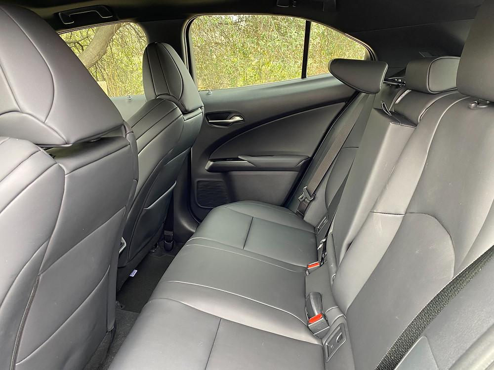 2021 Lexus UX 200 F SPORT rear seat