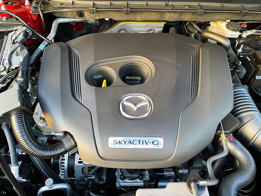 2020 Mazda CX-5 Signature AWD engine