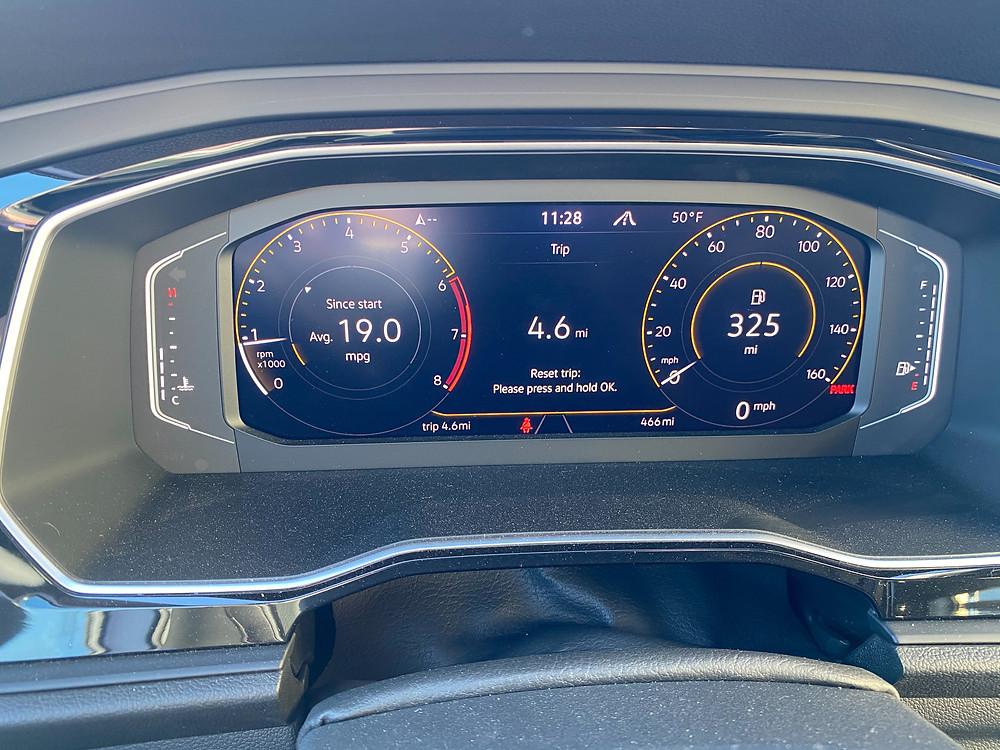 2021 Volkswagen Jetta GLI Autobahn gauge cluster