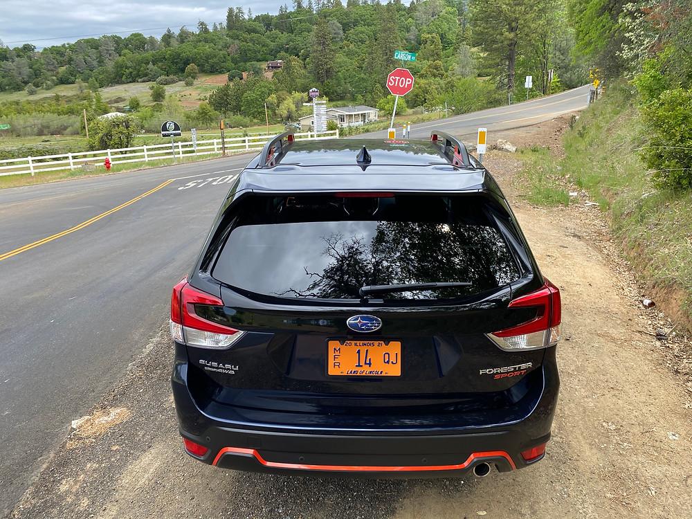 2021 Subaru Forester Sport rear view