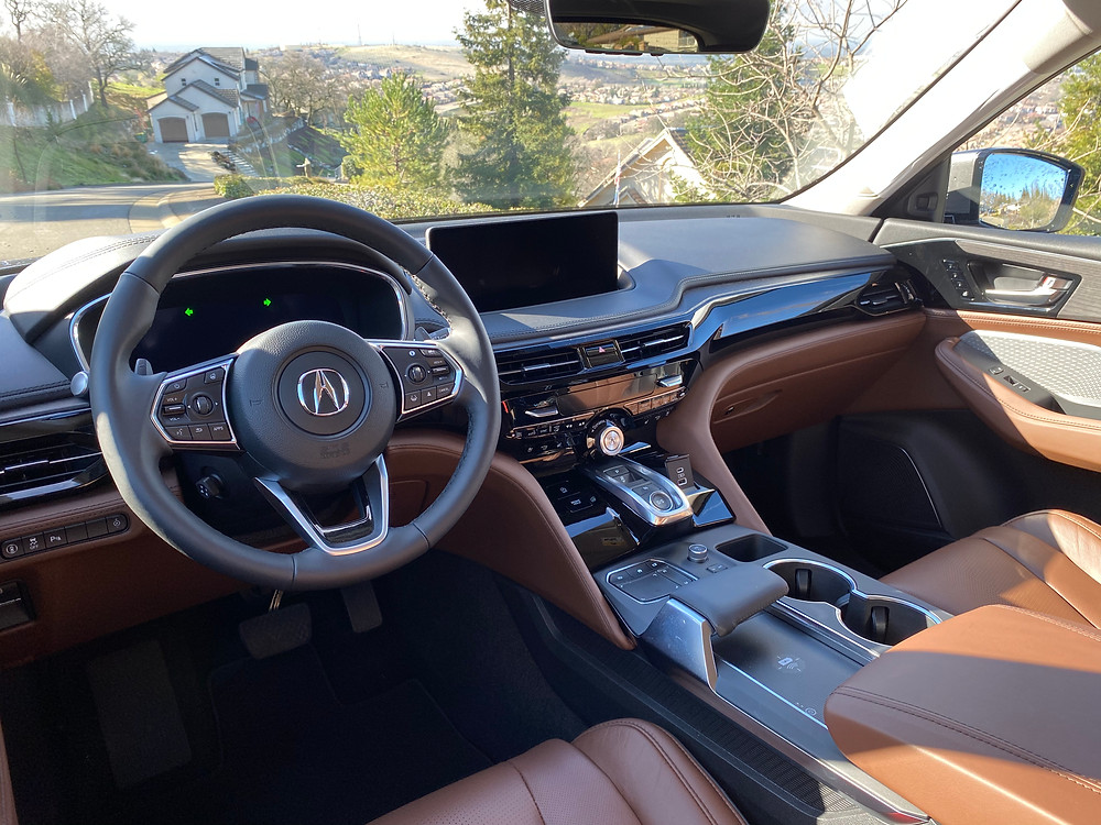 2022 Acura MDX SH-AWD Advance instrument panel