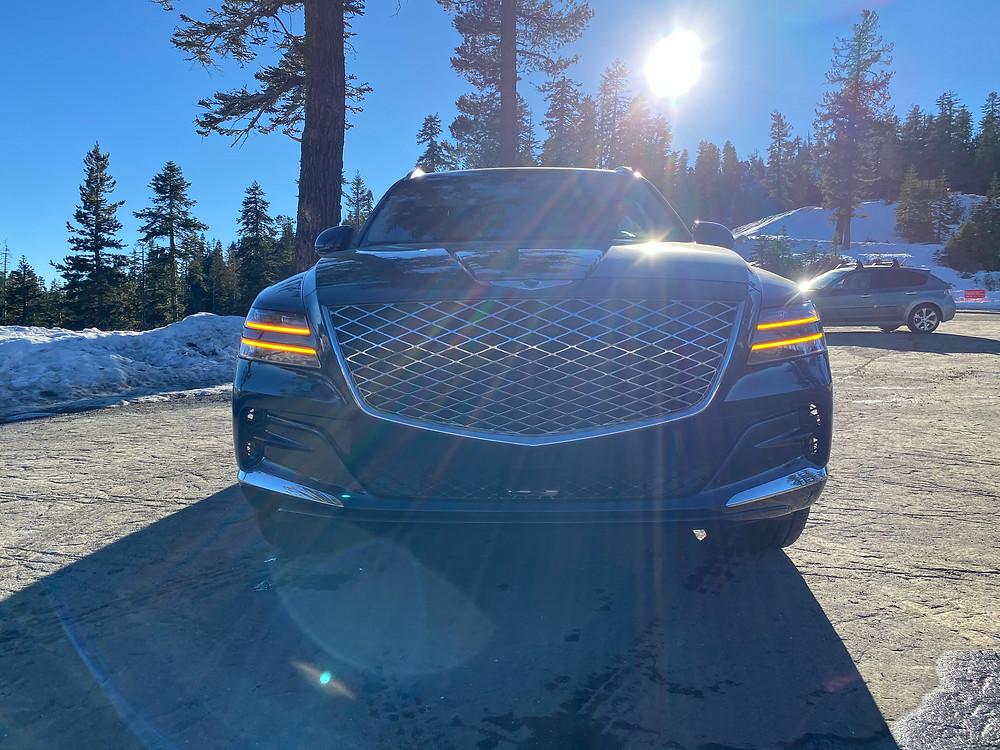 2021 Genesis GV80 3.5T AWD Prestige front view