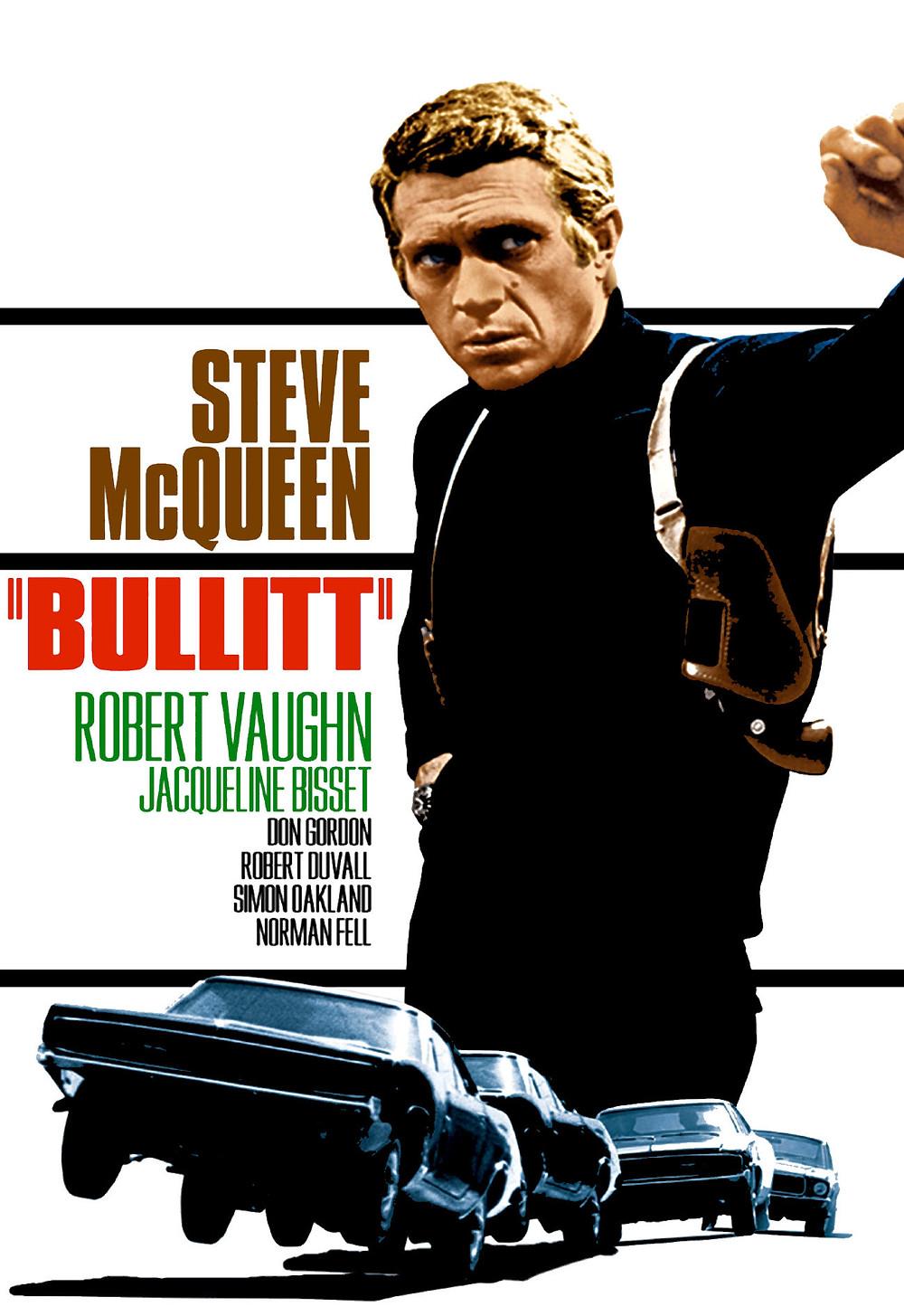 """""""BULLITT"""" movie poster"""