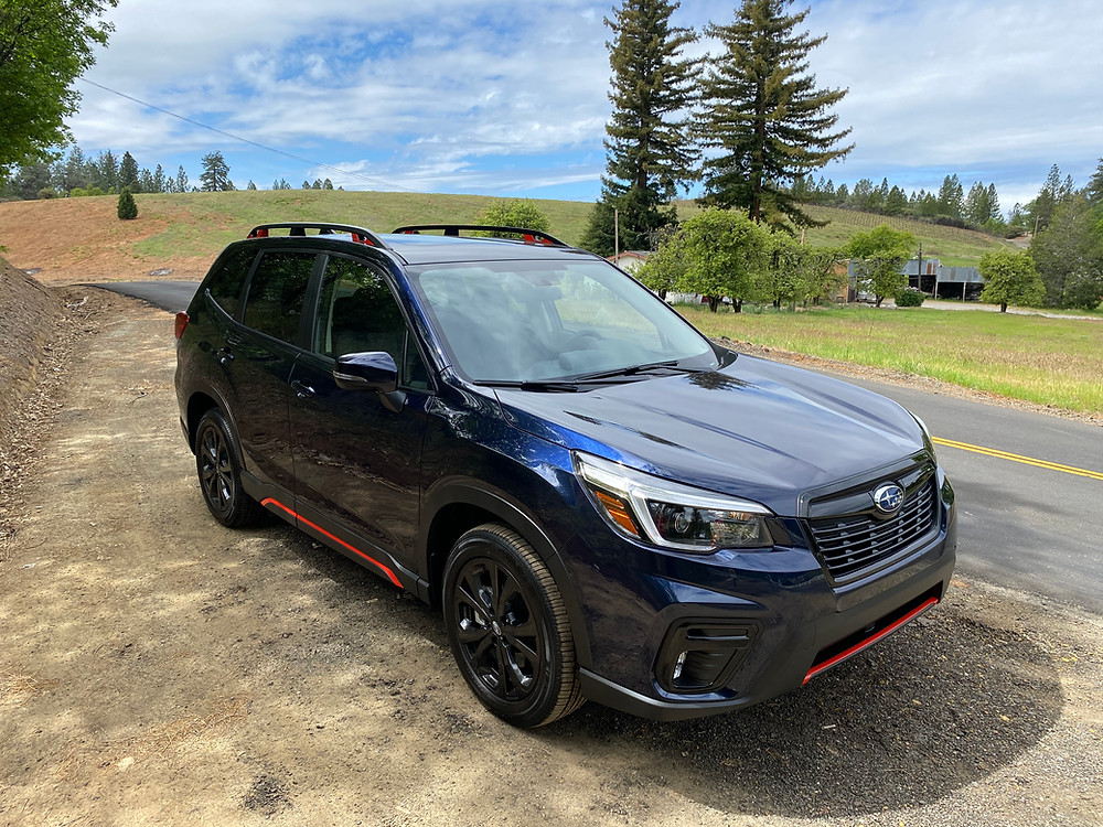 2021 Subaru Forester Sport front 3/4 view