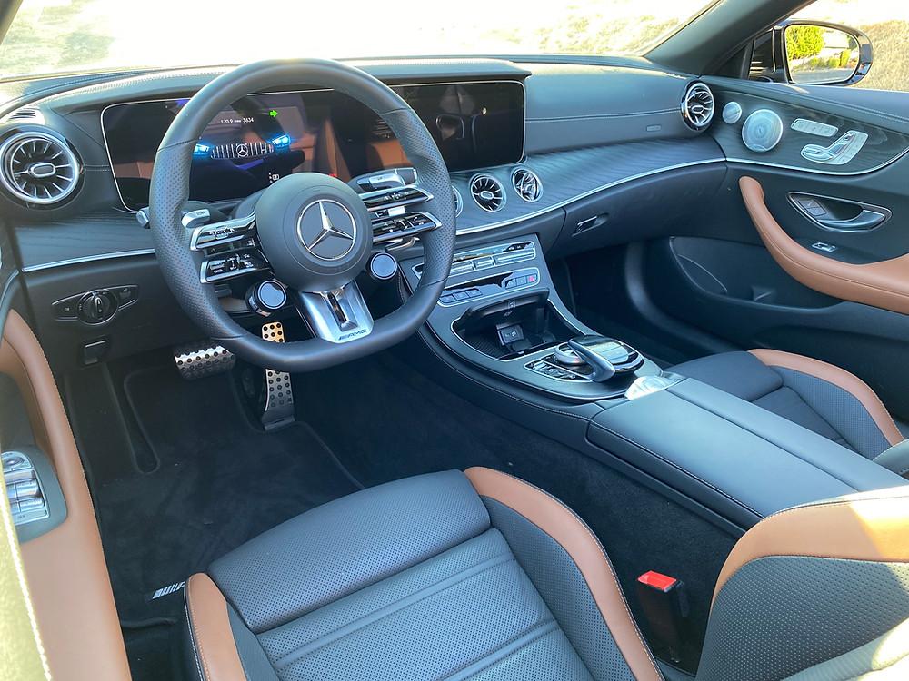 2021 Mercedes-AMG E53 Cabriolet instrument panel