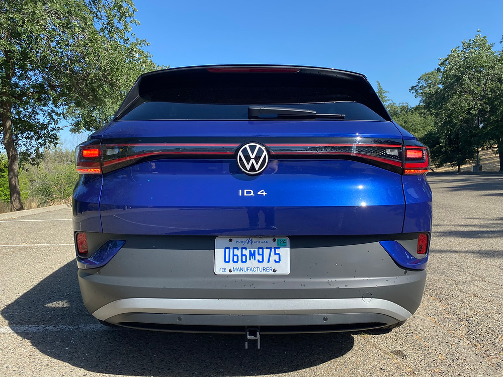 2021 Volkswagen ID.4 1st Edition rear view