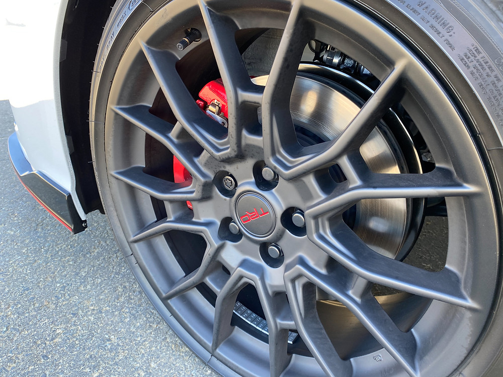 2021 Toyota Camry V6 TRD front wheel detail