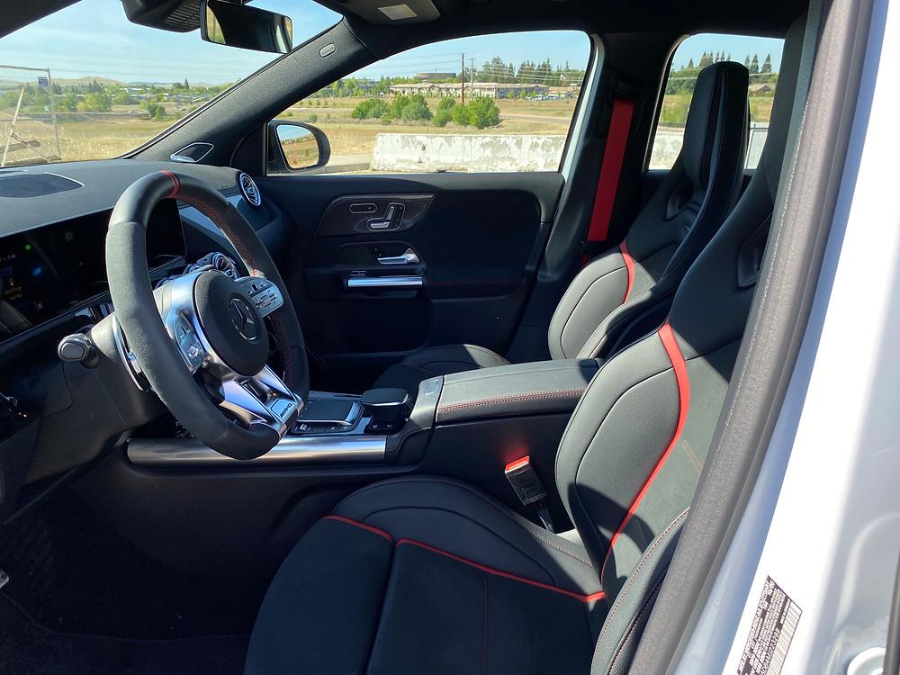 2021 Mercedes-AMG GLA45 4MATIC+ front seats