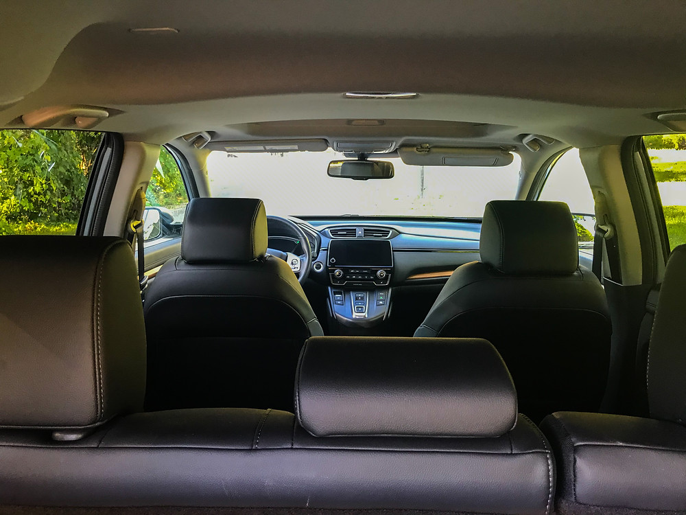 2020 Honda CR-V Hybrid Touring interior