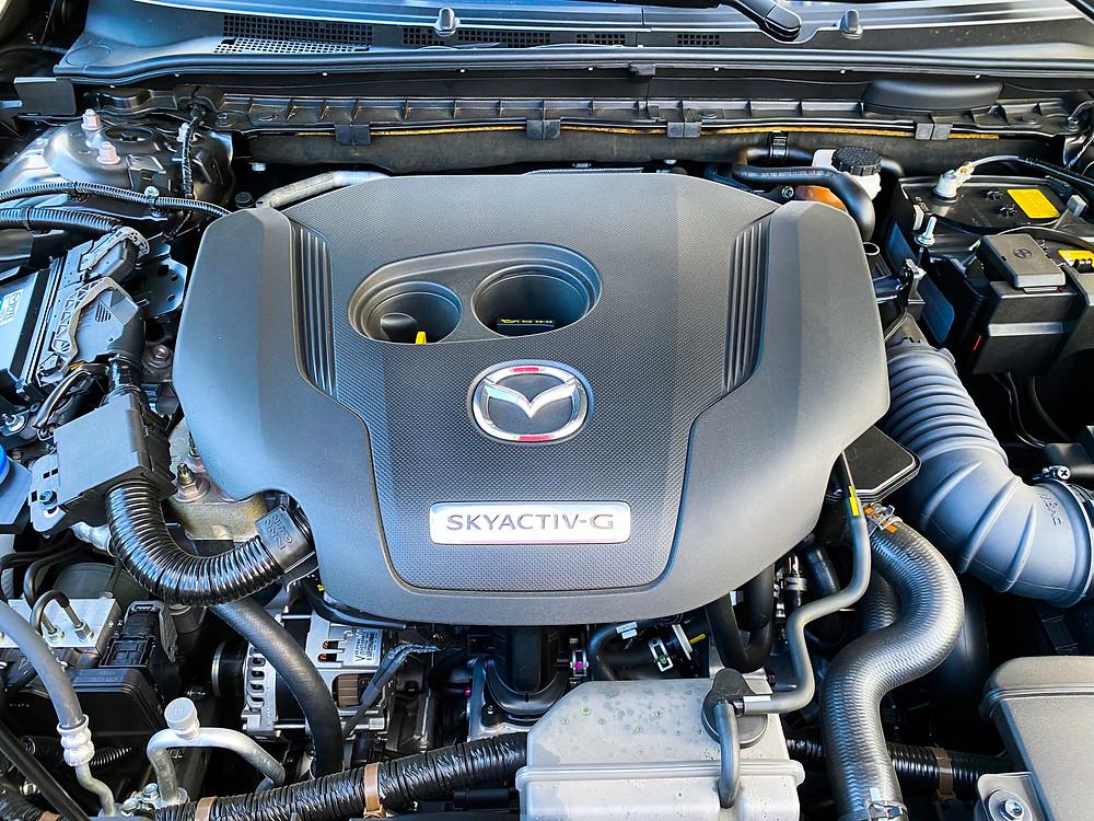 2020 Mazda 6 Signature engine