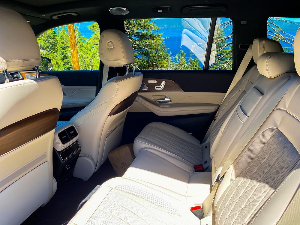 2021 Mercedes-AMG GLS 63 rear seat