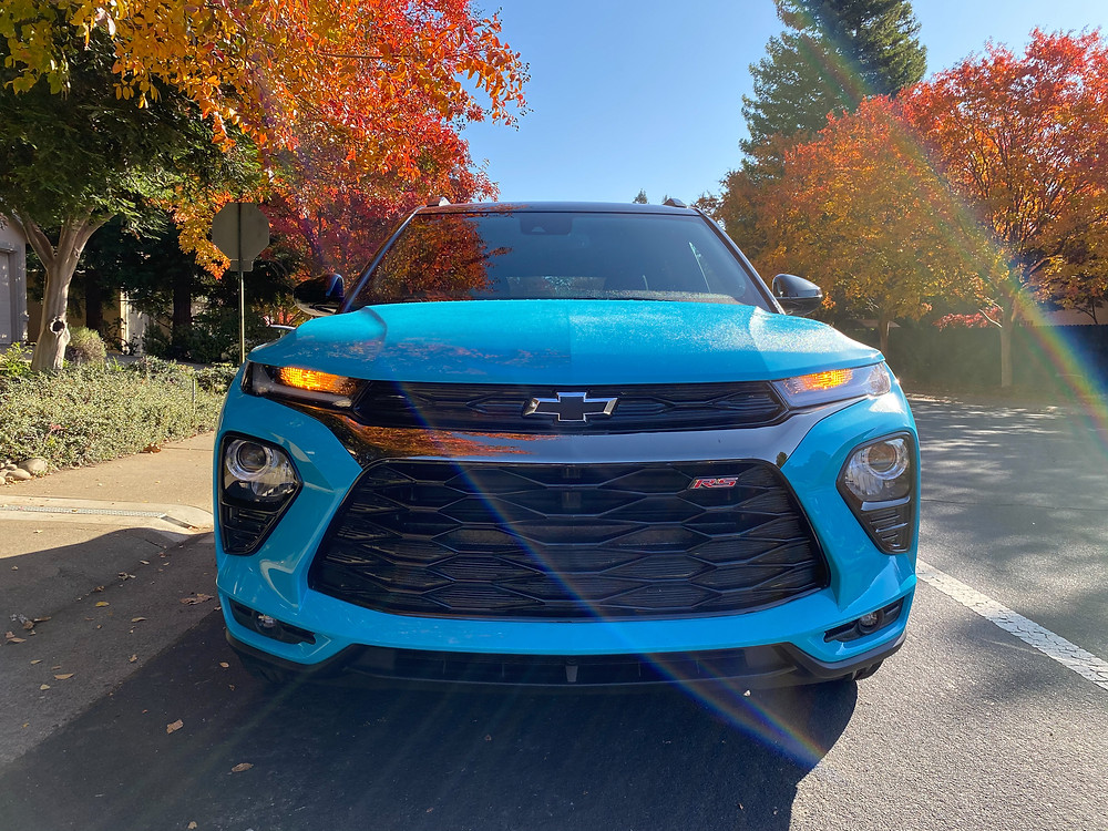 2021 Chevrolet Trailblazer AWD RS front view