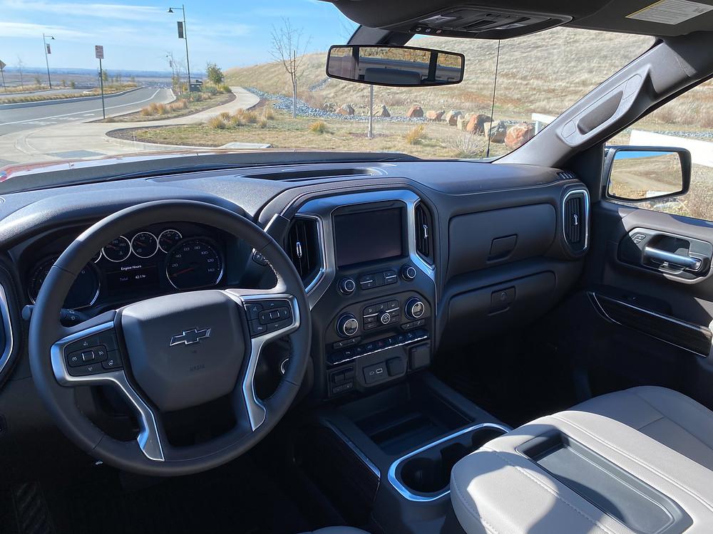 2021 Chevrolet Silverado Crew RST 4WD instrument panel