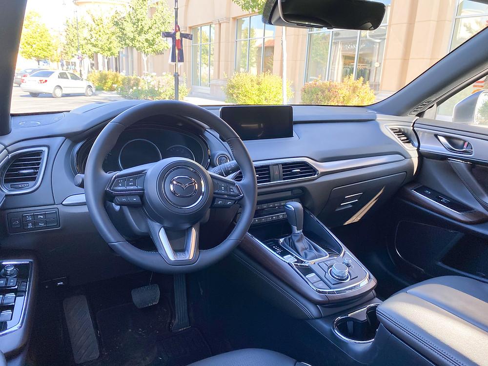 2021 Mazda CX-9 Signature AWD instrument panel