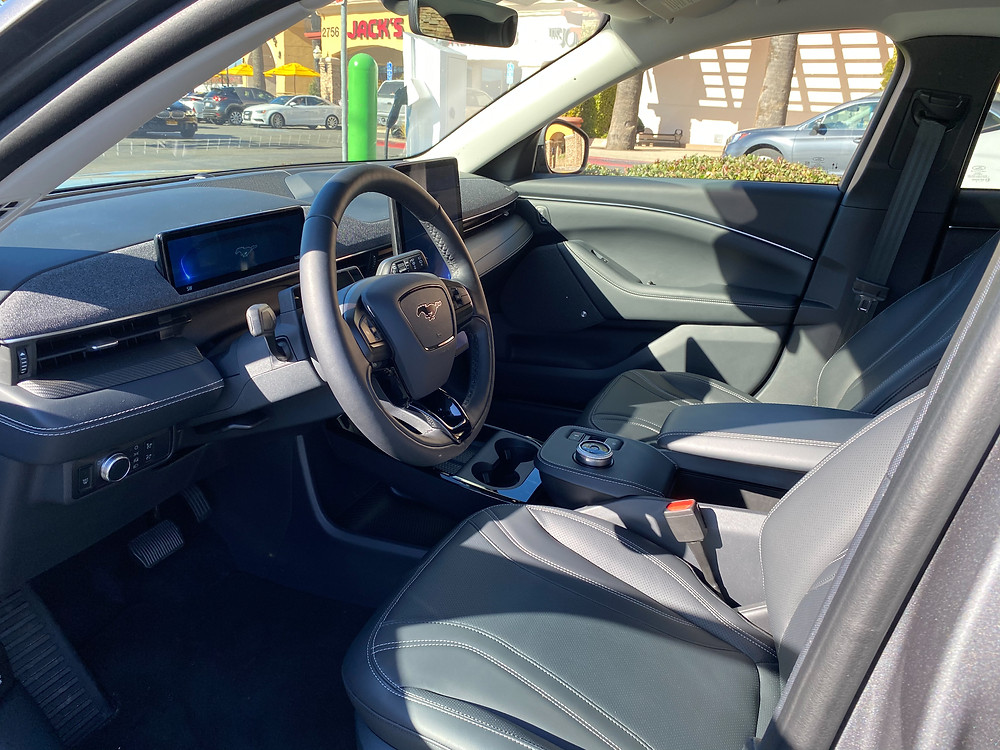2021 Ford Mustang Mach-E front seats