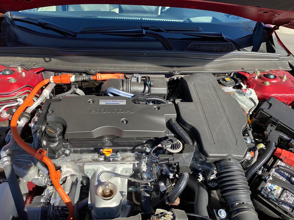 2021 Honda Accord Hybrid Touring hybrid powerplant