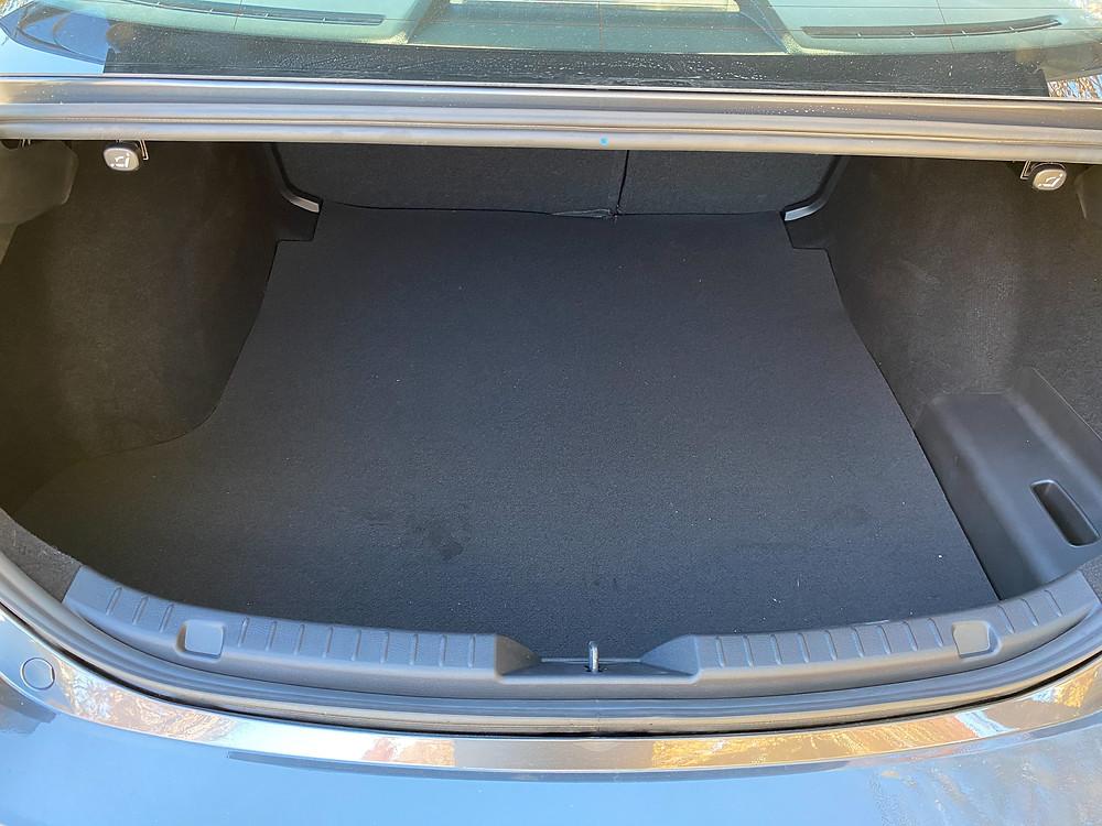 2021 Mazda 3 2.5 Turbo AWD trunk
