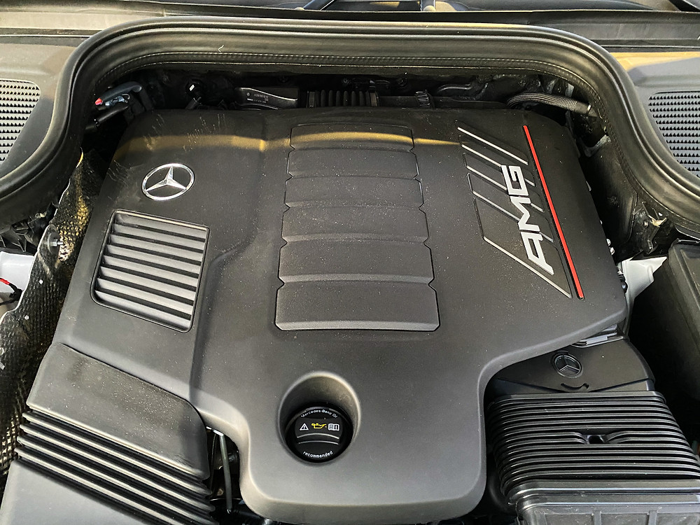 2021 Mercedes-Benz AMG GLE 53 Coupe engine