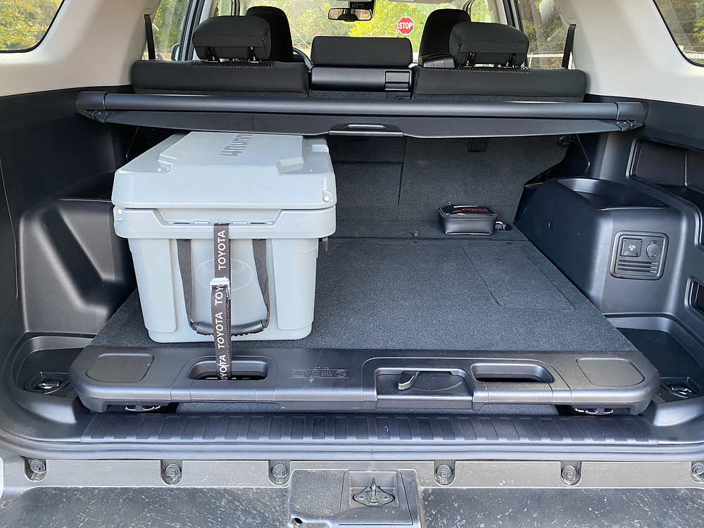 2021 Toyota 4Runner 4x4 Trail sliding load floor and cooler