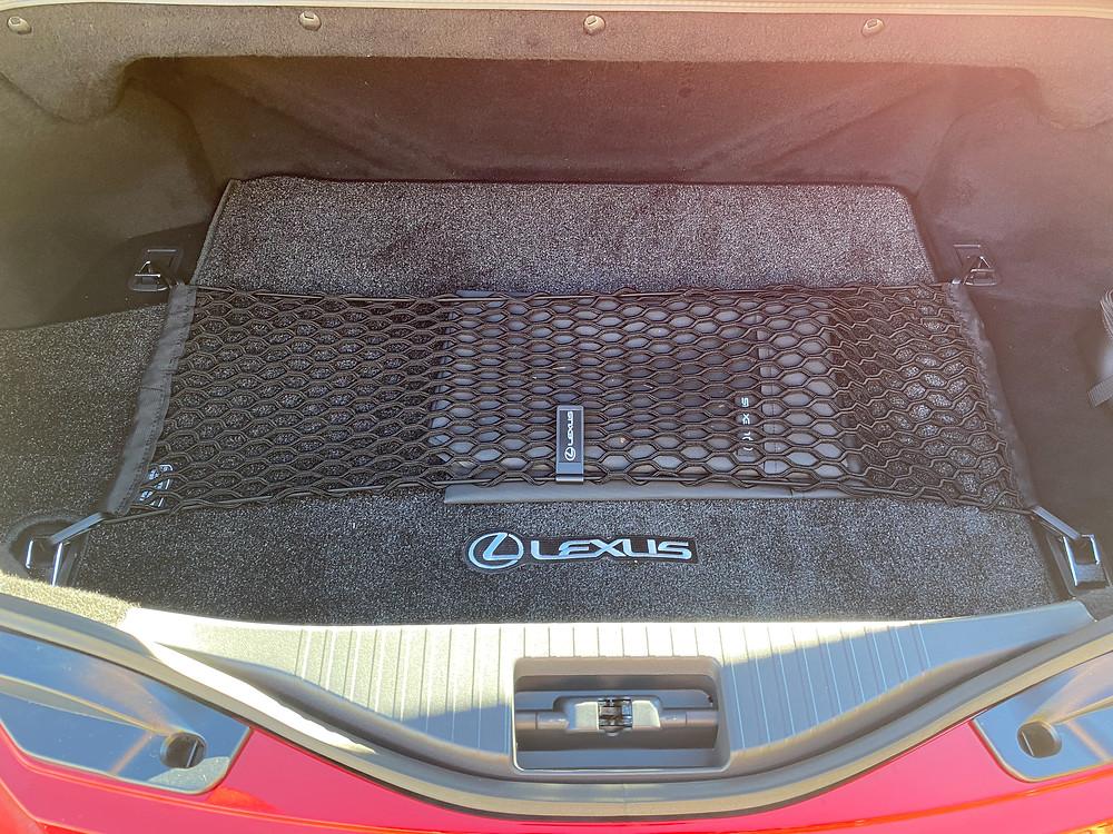 2021 Lexus LC 500 Convertible trunk