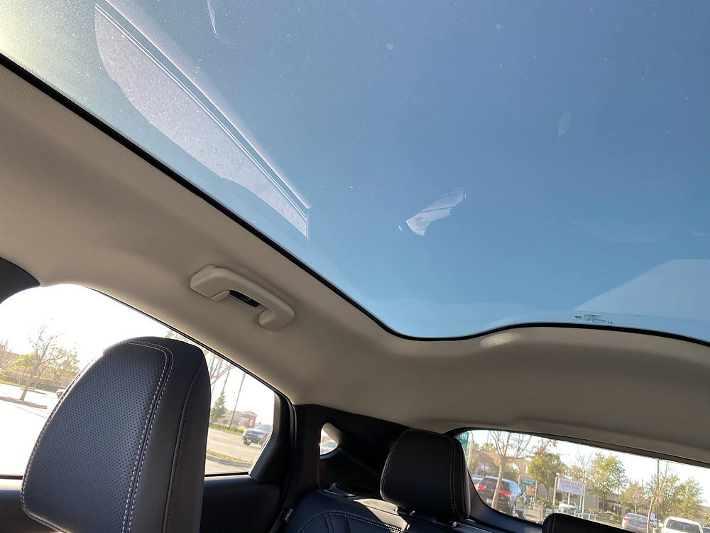 2021 Ford Mustang Mach-E glass roof