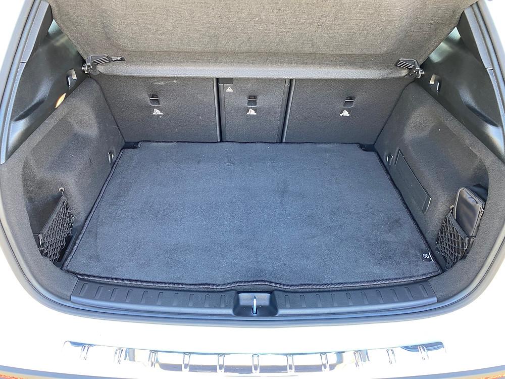 2021 Mercedes-AMG GLA45 4MATIC+ cargo area