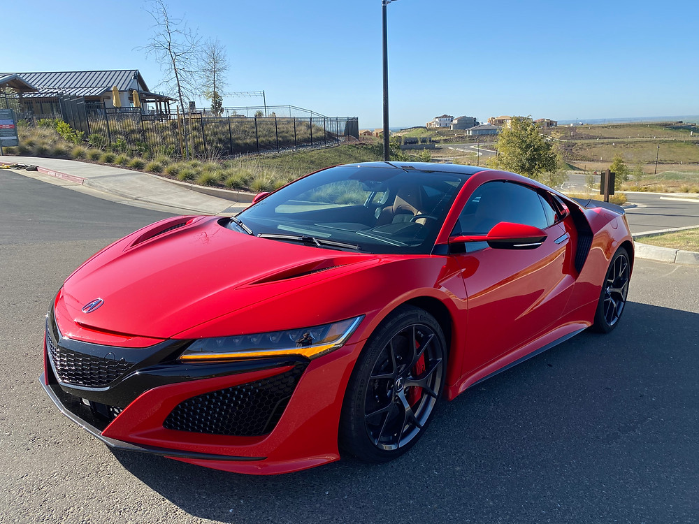 2020 Acura NSX front 3/4 view