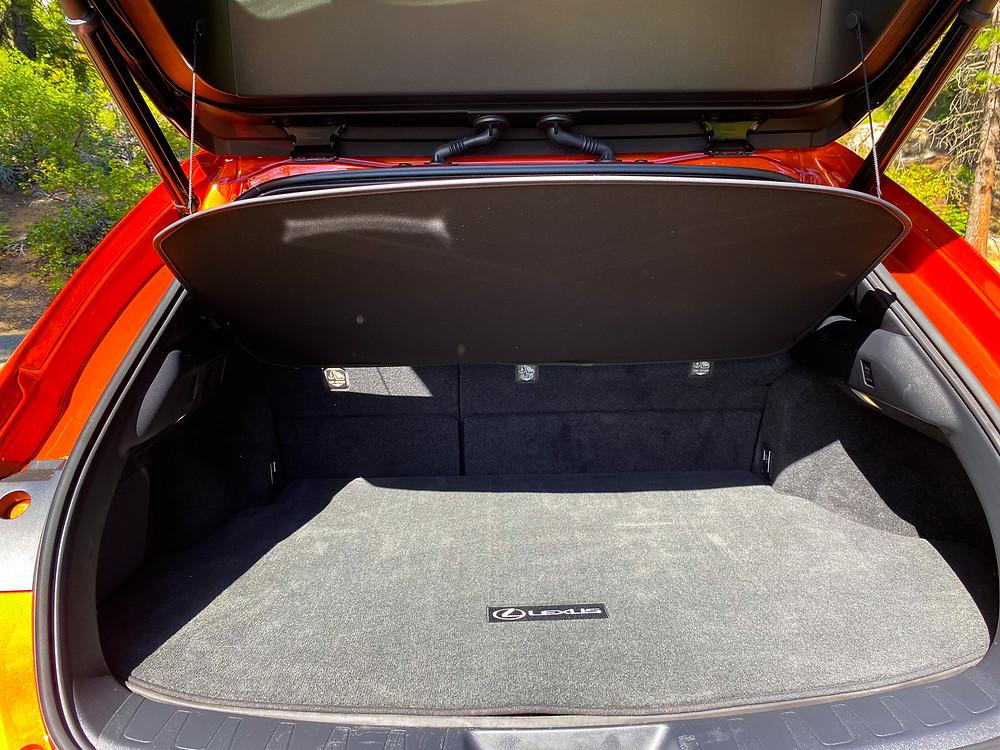 2020 Lexus UX 250h cargo area