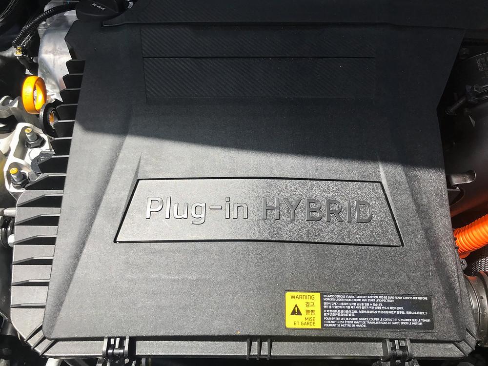 2020 Kia Niro PHEV EX Premium hybrid powerplant detail