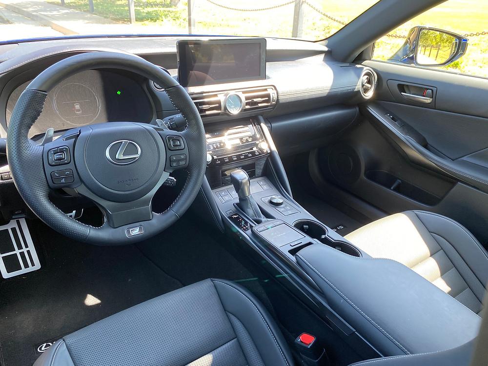 2021 Lexus IS 350 F SPORT instrument panel