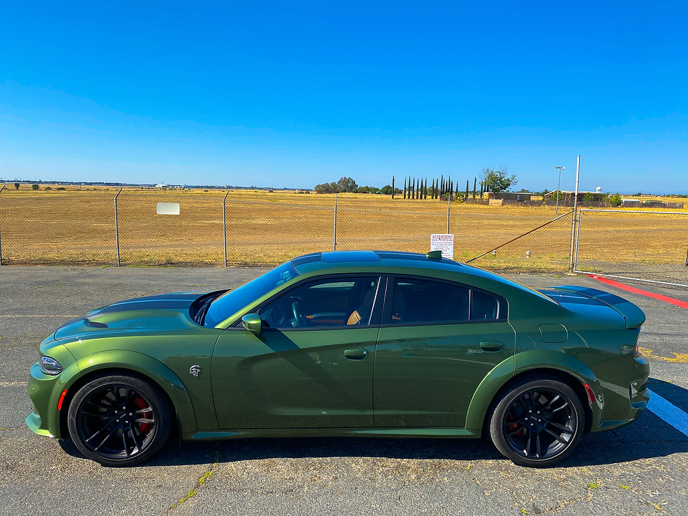 2020 Dodge Charger SRT Hellcat Widebody side view