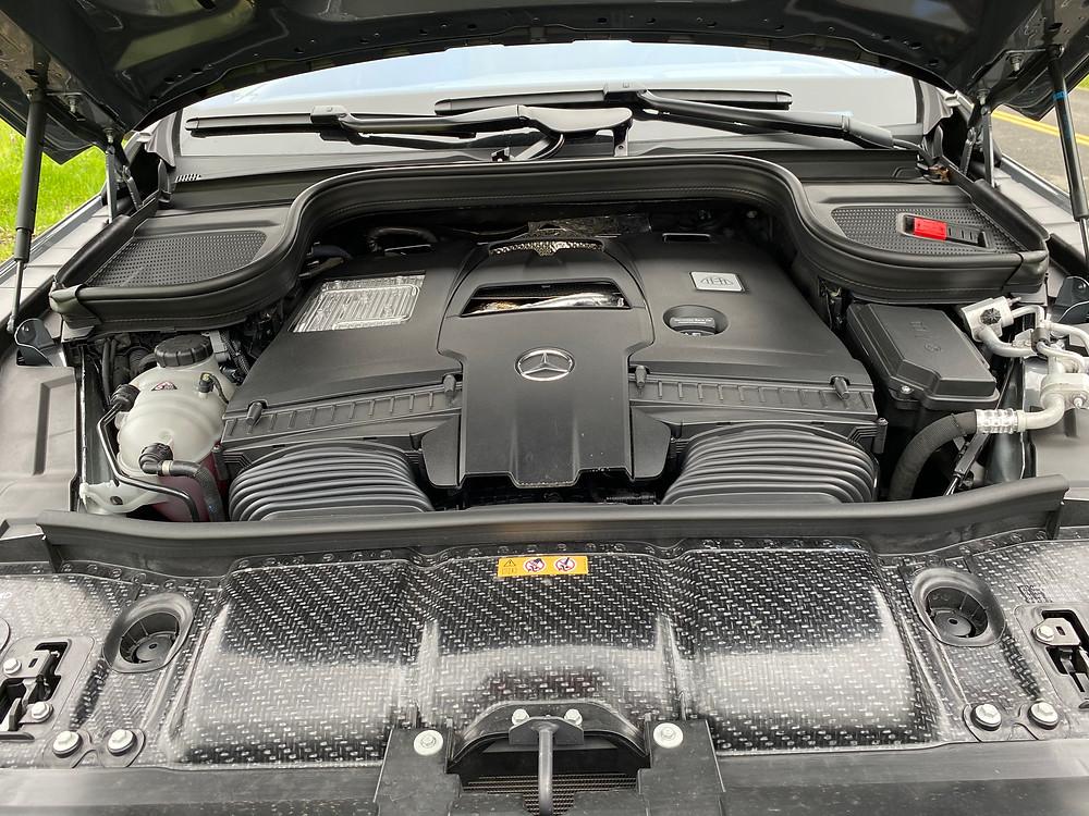 2021 Mercedes-Maybach GLS 600 engine