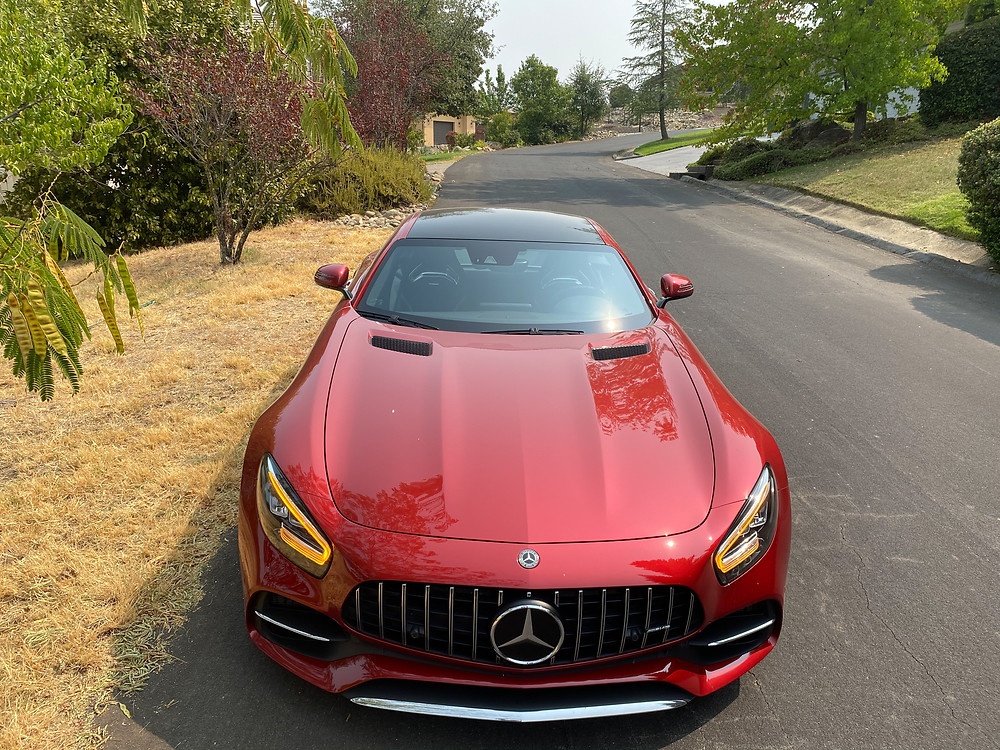 2020 Mercedes-AMG GT C front view