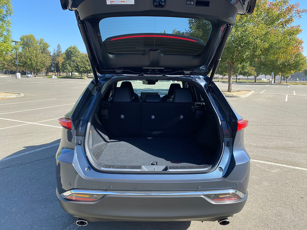 2021 Toyota Venza Limited rear liftgate open