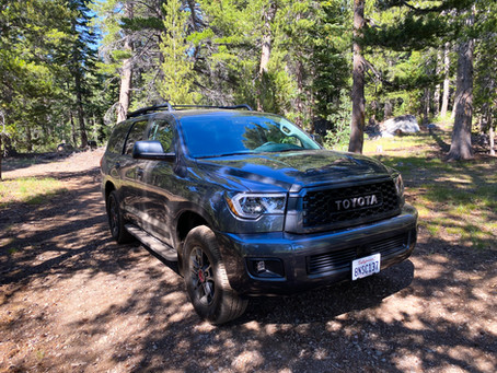 Towering. Timeless.  The 2020 Toyota Sequoia TRD PRO
