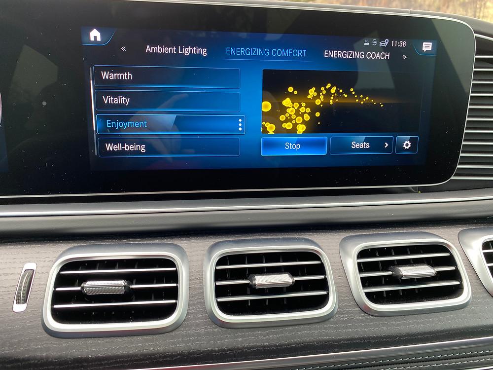2021 Mercedes-Maybach GLS 600 4MATIC enjoyment screen