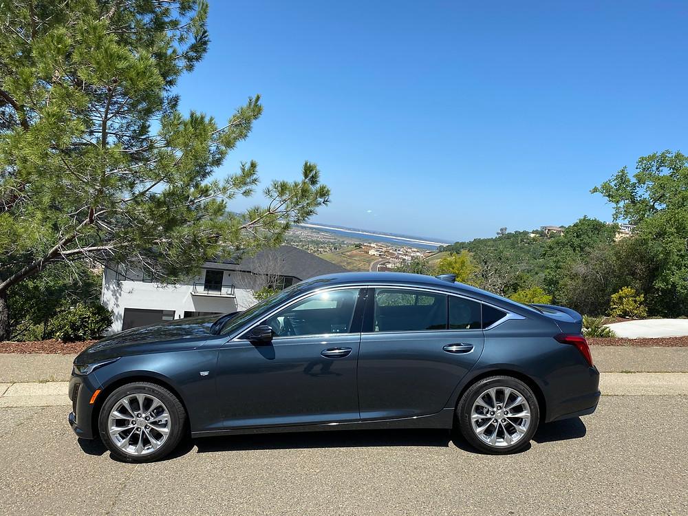 2021 Cadillac CT5 Premium Luxury side view