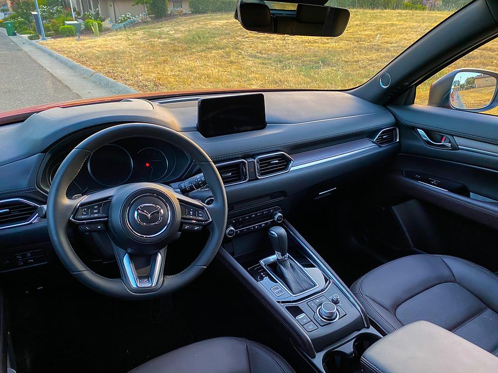 2020 Mazda CX-5 Signature AWD instrument panel