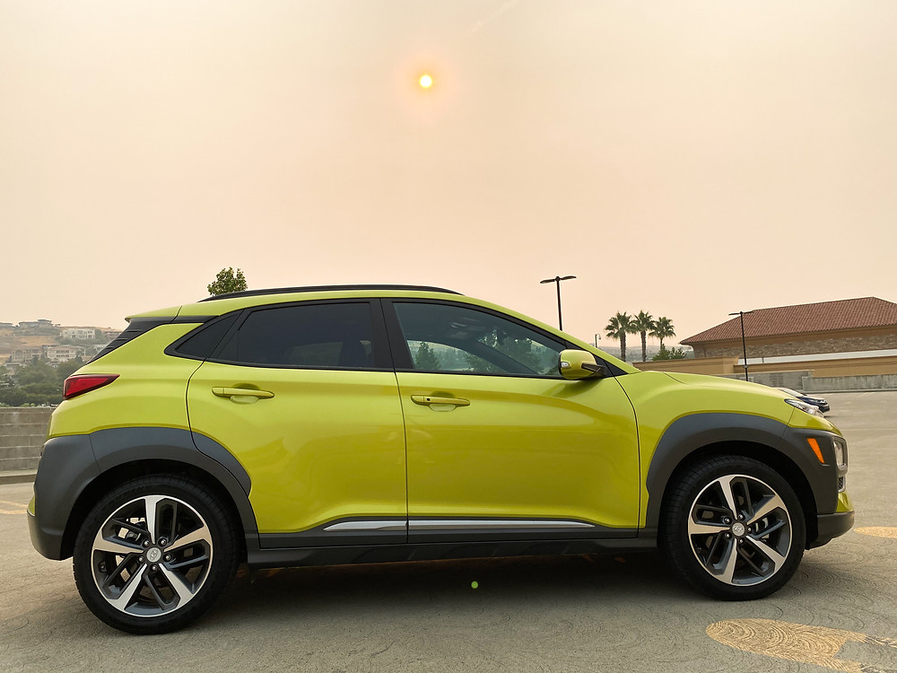 2020 Hyundai Kona Ultimate FWD side view