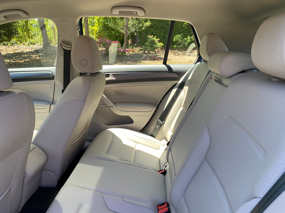 2021 Volkswagen Golf TSI rear seat