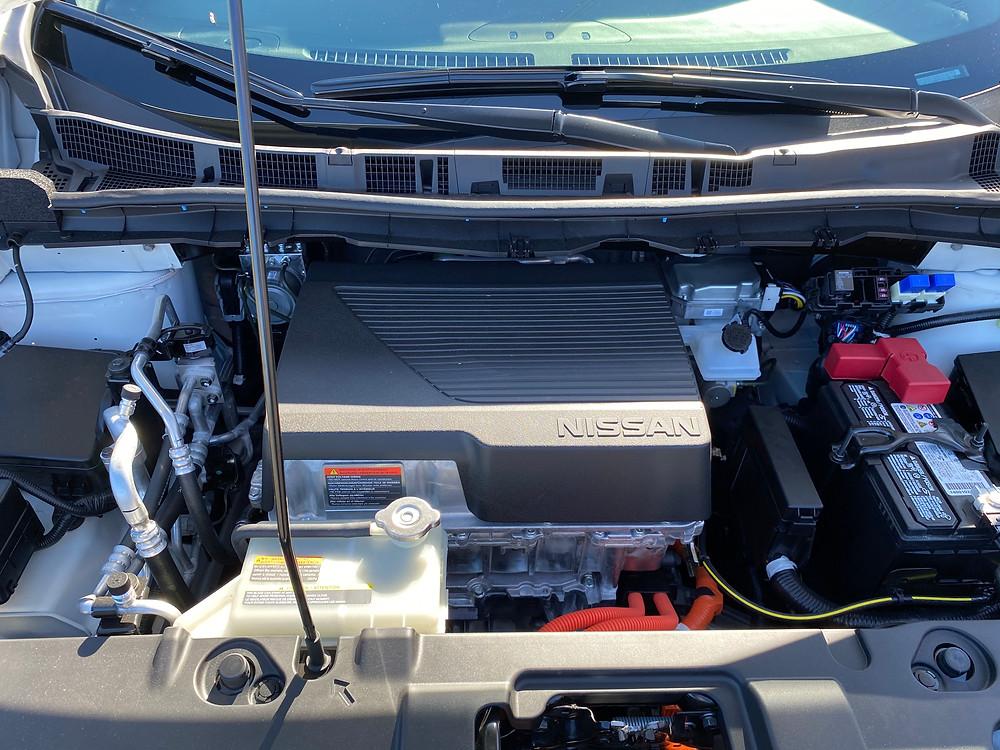 2021 Nissan Leaf SL Plus electric motor