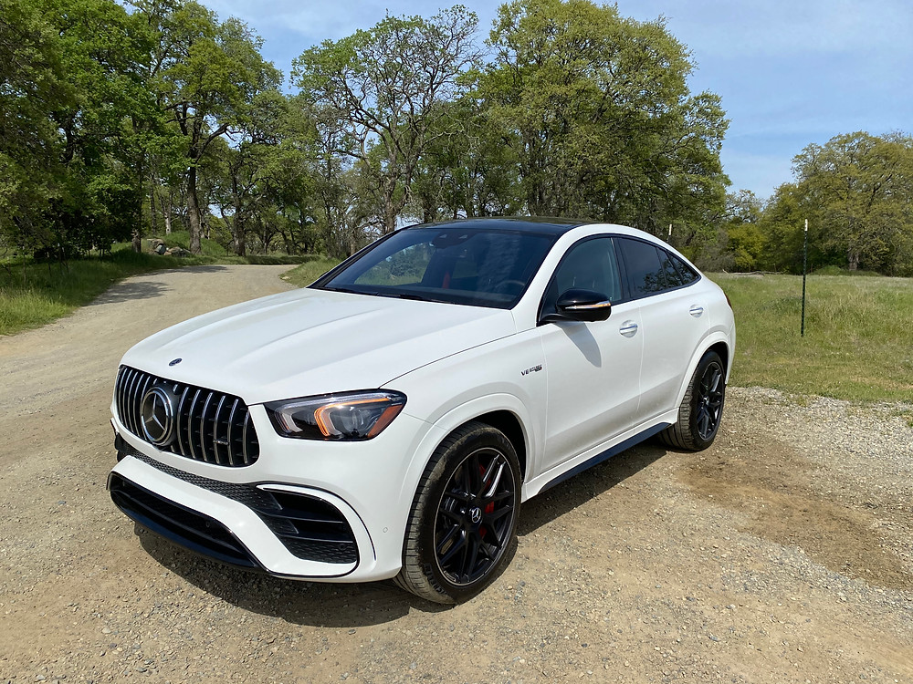 2021 Mercedes-AMG GLE 63 S Coupe front 3/4 view