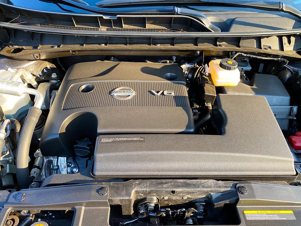 2020 Nissan Murano Platinum FWD engine