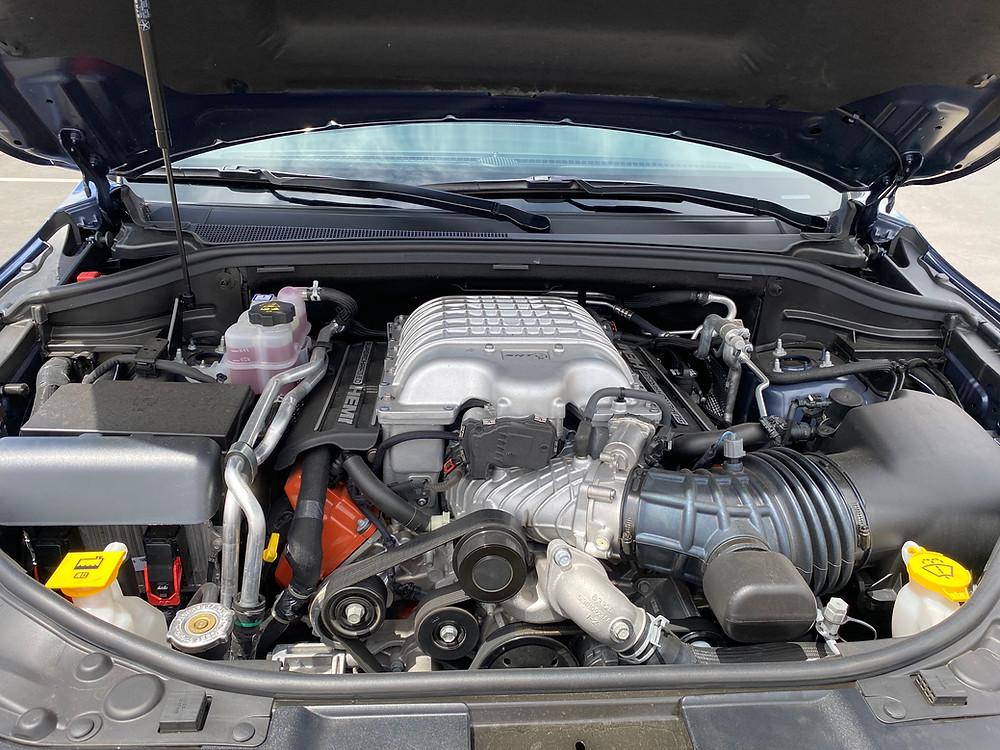 2021 Dodge Durango SRT Hellcat AWD engine