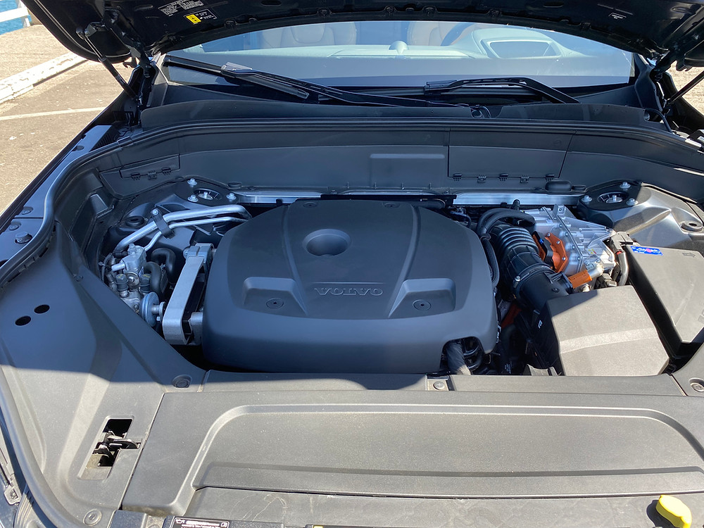 2021 Volvo XC90 Recharge T8 Inscription engine bay