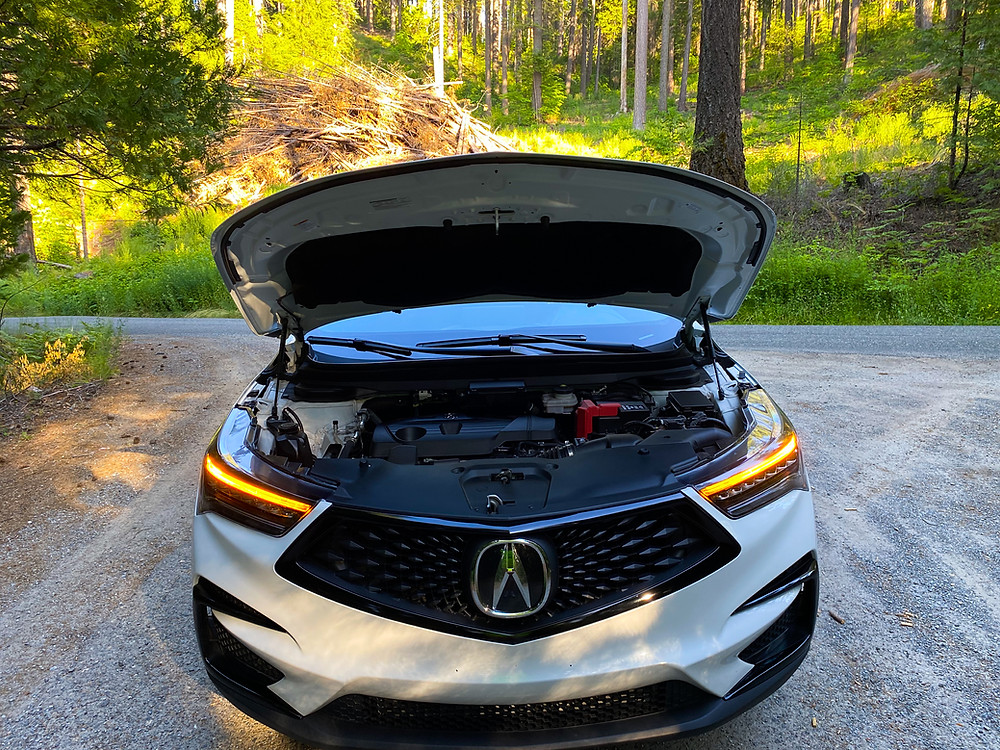 2020 Acura RDX SH-AWD A-Spec hood up