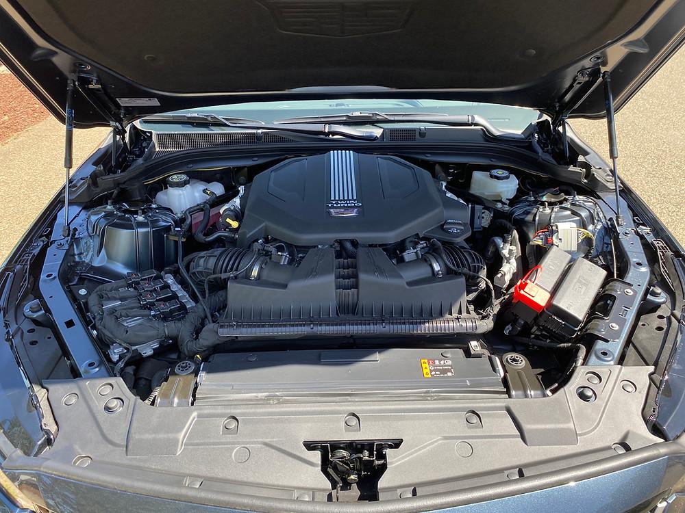 2021 Cadillac CT5 Premium Luxury engine