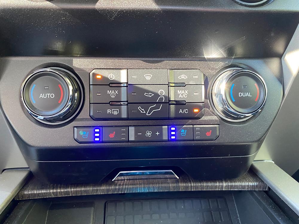 2021 Ford F-250 Tremor HVAC