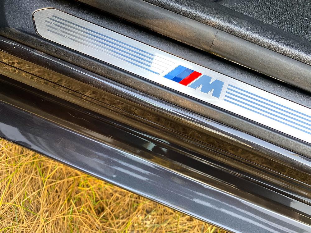 2020 BMW X3 xDrive30e M Sport sill plate