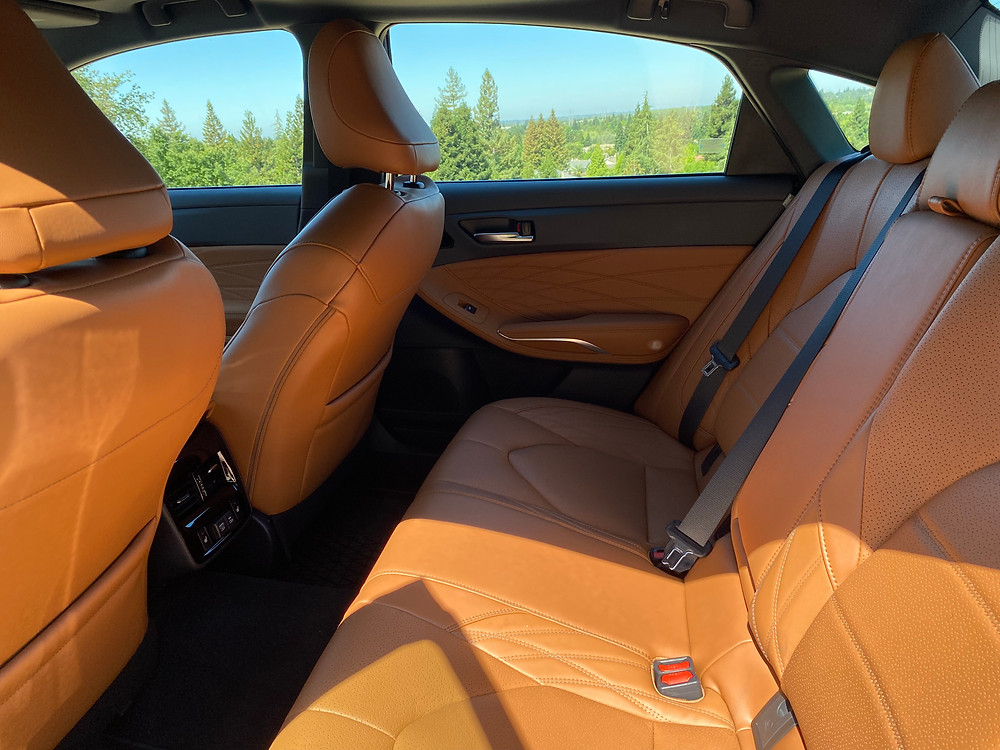 2021 Toyota Avalon Limited AWD rear seat